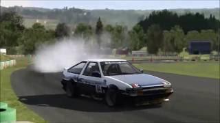 Assetto Corsa - Drift AE86 Raw Sound