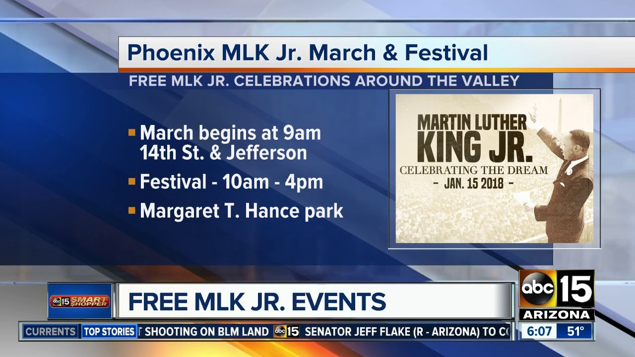 4 MLK Day celebrations around the Valley