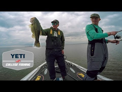 College Fishing Tournament Second Chances!! (Lake Texoma Bass Fishing)