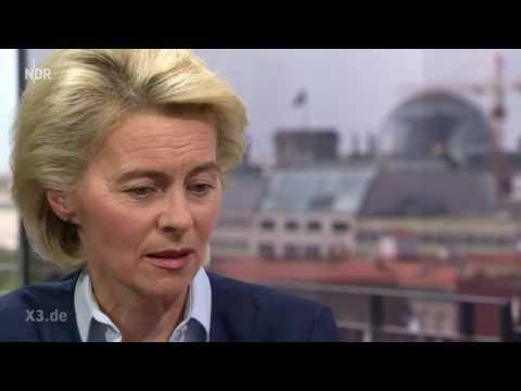Würde Ursula von der Leyen ihre Kinder in einen Auslandseinsatz schicken