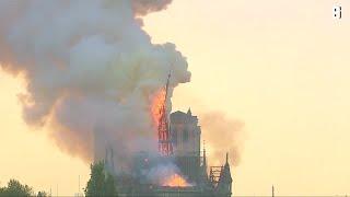 "Pariser Kathedrale: Brand in Notre-Dame ""vollkommen unter Kontrolle"""