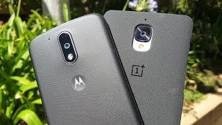 Moto G4 Plus vs OnePlus 3: The $100 difference?