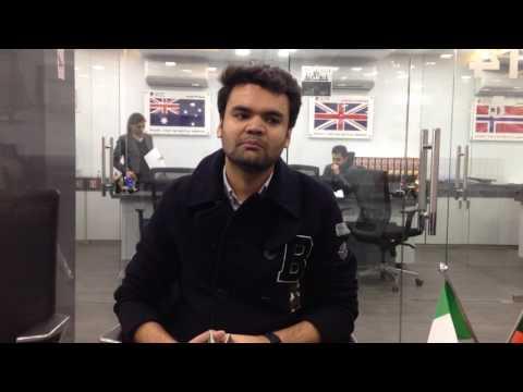we wish Gagan Vashishth fro his Study Visa (F1 Visa)