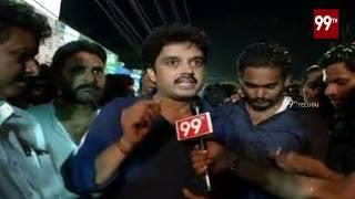 East Godavari Janasena leaders Speech on  RamachandraPuram Public Meeting Success | 99 TV Telugu
