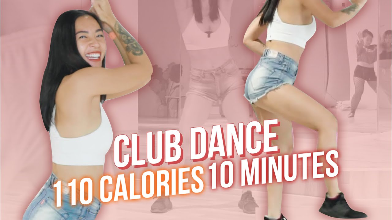 Club dance   10 phút cardio tập nhảy đi club (110 calories, beginner)   Workout #172