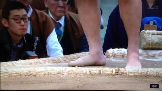 I love the thumbnail for this video of Hakuho's feet** Hakuho is th...