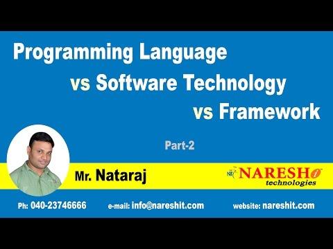 Programming Language vs Software Technology vs Framework  Part-2 - Hibernate Tutorial