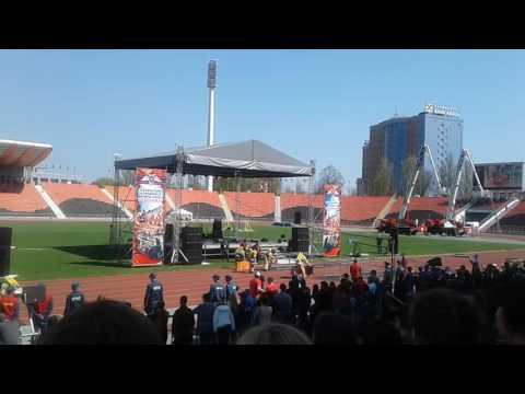 Международный чемпионат по пожарному кроссфиту. Горловка