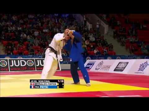 Loic Pietri vs Antoine Valois-Fortier World Judo Championships 2015