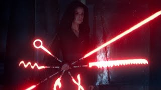 Rey's New Lightsaber (Sith Army Knife)
