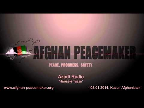 Afghan Peacemaker at Azadi Radio [Pashto]