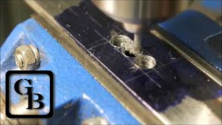 Milling Without A Mill! (On The Drill Press) | Güth Blades