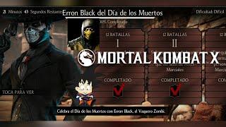 Mortal Kombat X Android Desafio / Challenge Erron Black del Dia de los Muertos Dificil