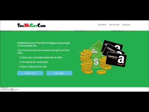 Sell your amazon gift card for paypal