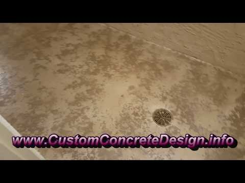 Decorative Concrete Resurfaced Flooring in Lake Ozark, MO