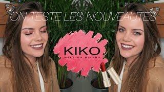 On teste les nouveautés KIKO !