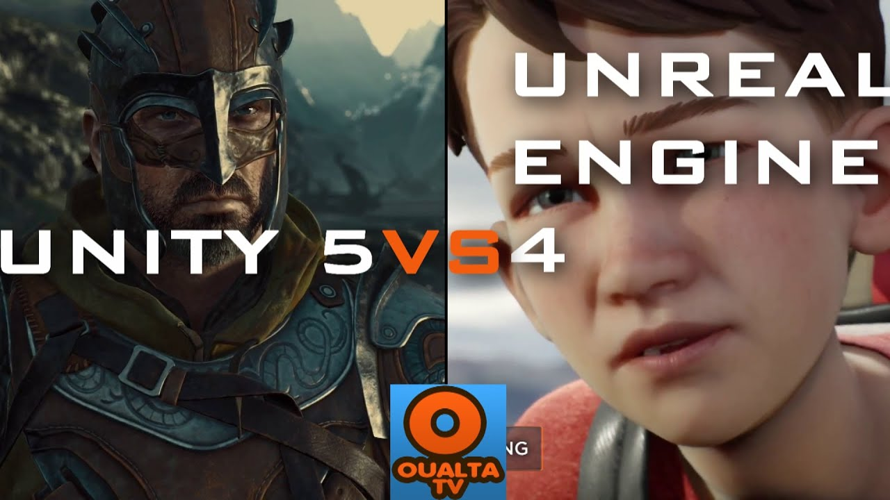 Unity 5 VS Unreal Engine 4 2015 Features Trailer - YouTube