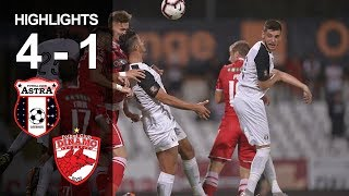 Rezumat: Astra Giurgiu - Dinamo 4-1 (Liga 1, et. 21, ed.2018-2019)