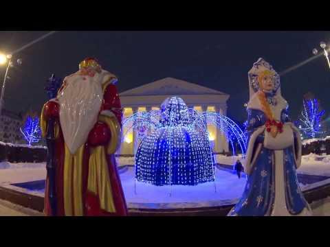 Ryazan in anticipation of the New year 2017 / Рязань в ожидании Нового 2017 года