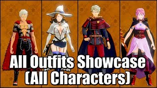 BLACK CLOVER: QUARTET KNIGHTS - All Outfits Showcase | All Characters