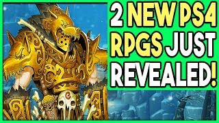 2 NEW PS4 RPGS JUST REVEALED - PS4 GAMES ANNOUNCED!