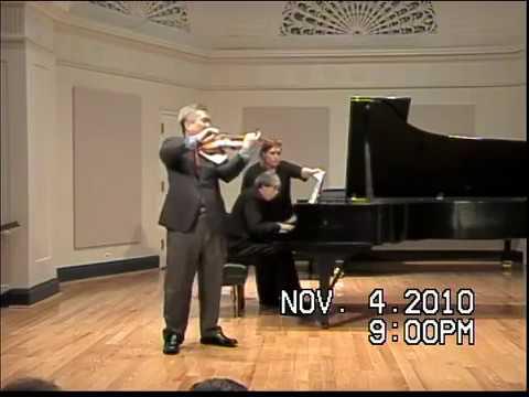 Chin Kim, David Oei, Grieg Sonata C 1st movement