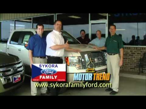 Sykora Family Ford 2012 Truck Month TV Commercial