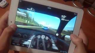 Планшет Explay Surfer 8.02. Antutu, Real Racing 3