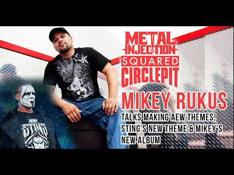 AEW Music Producer Mikey Rukus on Sting's Theme, Getting the Job & His New Album | Metal Injection