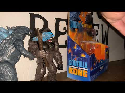*NEW* Godzilla vs Kong 6 inch figures Unboxing/review!