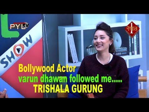 Bollywood Actor Varun Dhawan Followed me :Beautiful singer  Trishala Gurung