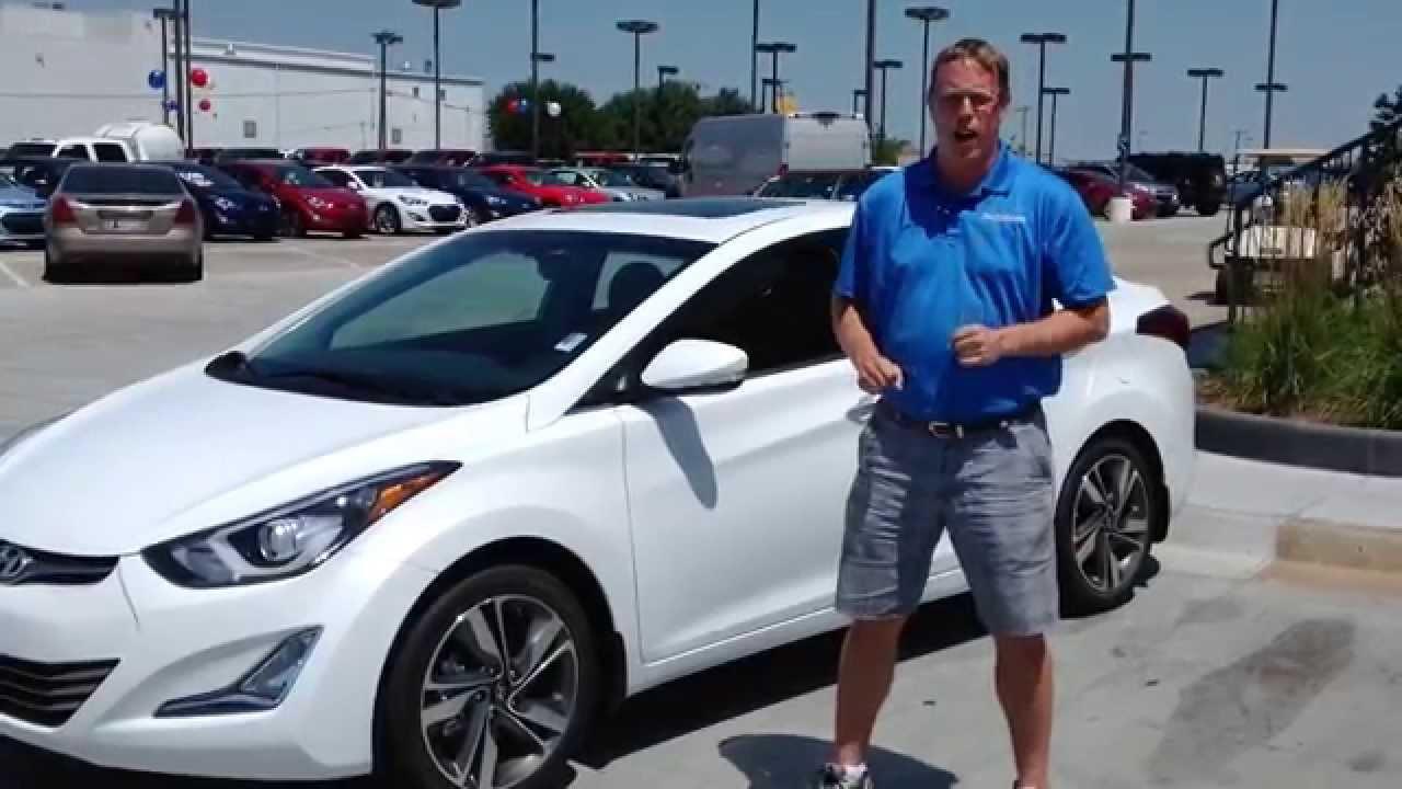 New 2015 Hyundai Elantra Test Drive Walkaround Review In