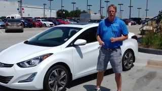 New 2015 Hyundai Elantra Test Drive Walkaround Review in Oklahoma City, Edmond, & Norman, OK