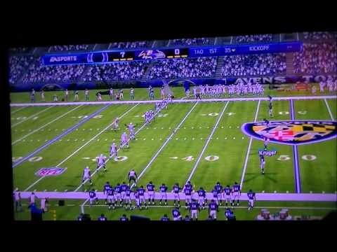 Madden 13 WK12 December 2 2001 Colts @ Ravens 1st QT