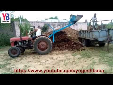 Indian amazing tractor farm equipment dump technology machinery