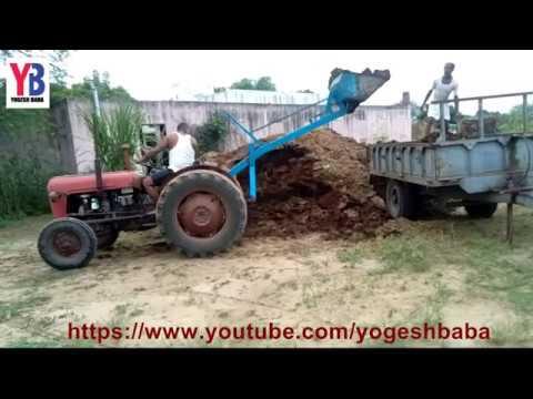 Indian amazing tractor farm equipment dump technology ...