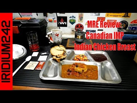 MRE Review: Canadian IMP Indian Chicken Breast