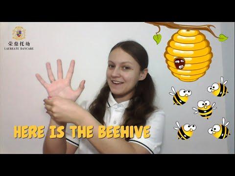 Finger Play | Here is the Beehive | Nursery Rhymes | Children's Songs