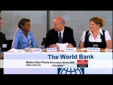 World Bank Praxis Discussion Series: Education