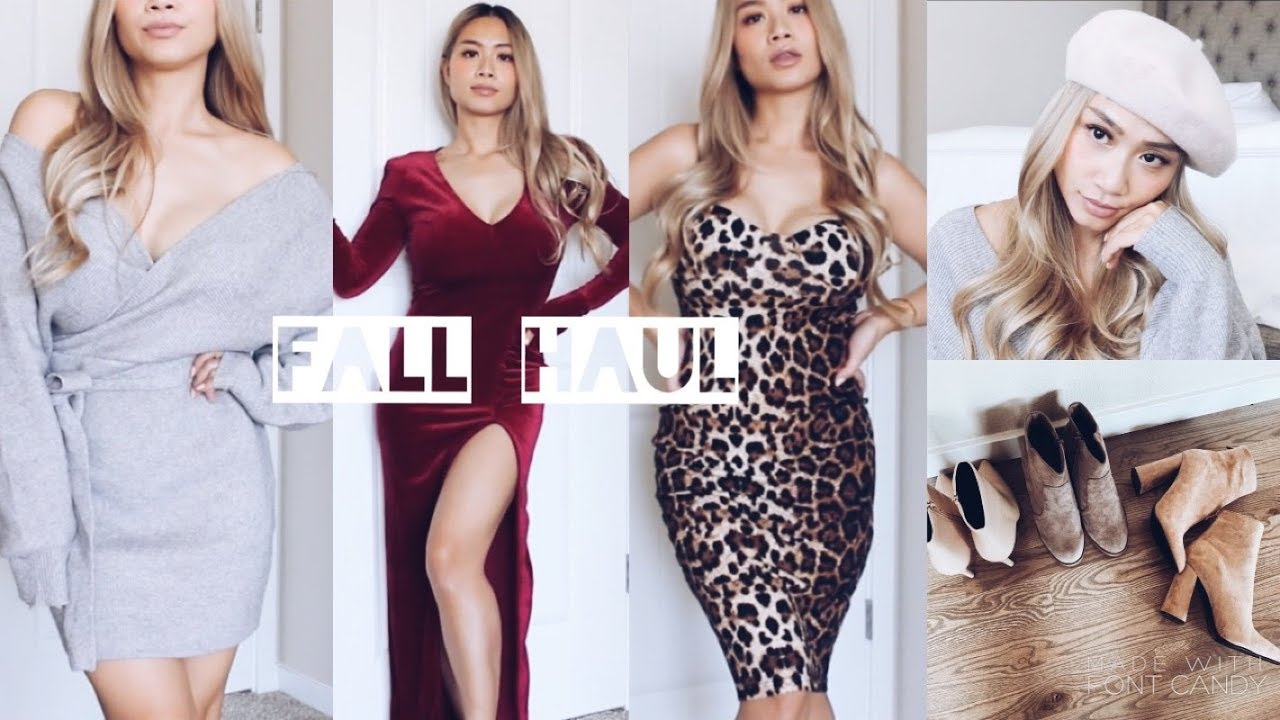86cd5dfc09b53 Fashion Nova Try On Fall Haul 2018 🍂   HAUSOFCOLOR - YouTube