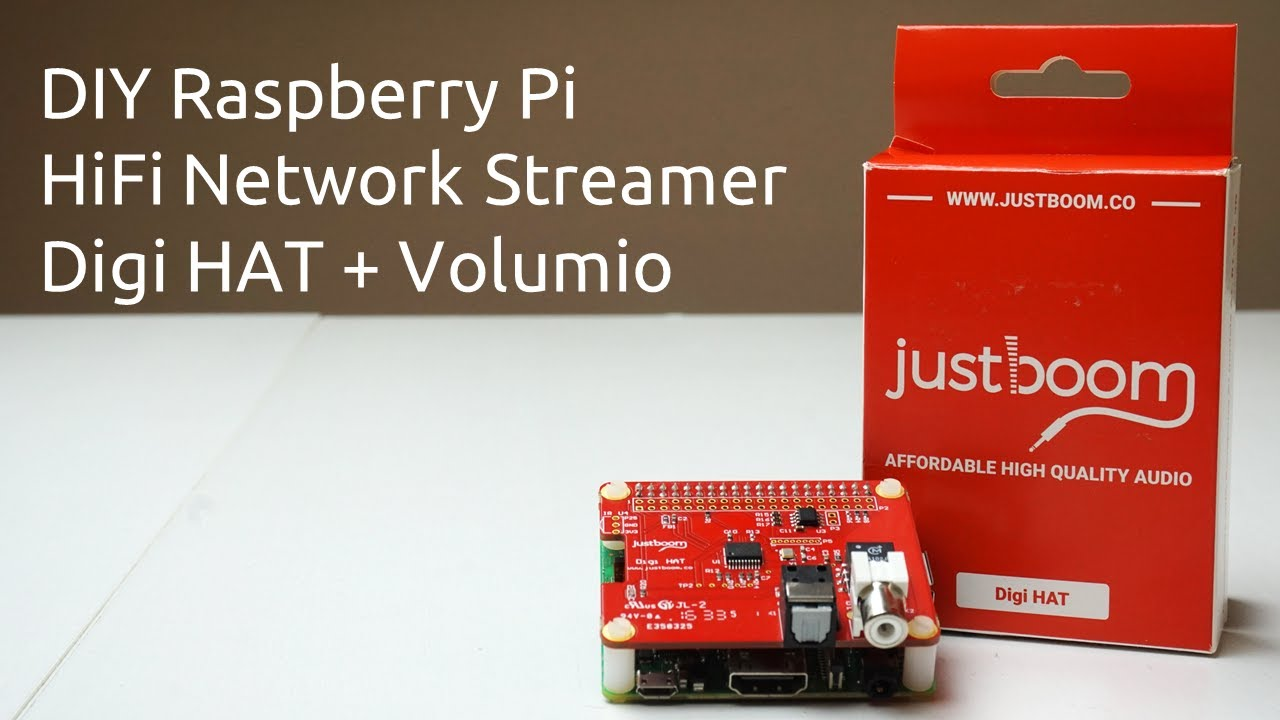 Howto Diy Raspberry Pi Hifi Network Streamer Digihat Volumio Experiencing It