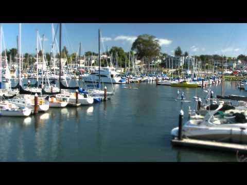 Santa Cruz Marina Tilt Shift Time Lapse