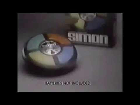Simple Simon - Classic Board Game - TV Toy Commercial - TV Spot - TV Ad - MB - 1982