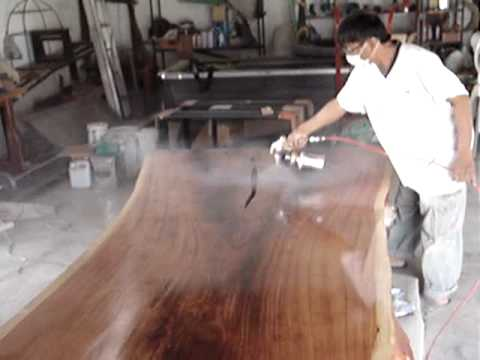 Dining Table Thai Rosewood Solid Slab Natural Free Form