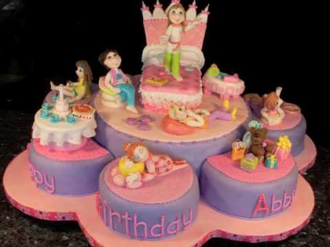 Slumber Party Cake Youtube