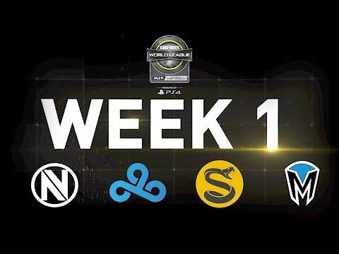 CWL Global Pro league Stage 1 Week 1 Show Open