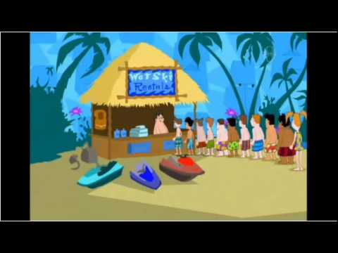 phineas and ferb backyard beach icelandic version youtube