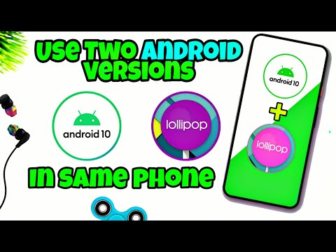 Install Two Android Versions In Same Phone||Dual Android OS|| In Just One Click