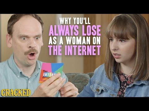 Why You'll Always Lose As A Woman On The Internet