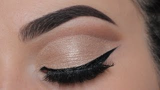 Subtle Cut Crease | Perfect for ANY eye shape